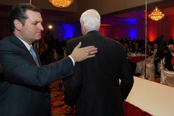 John Cornyn, though the senior senator, was the warm-up for Ted Cruz at a Fort Bend County event.