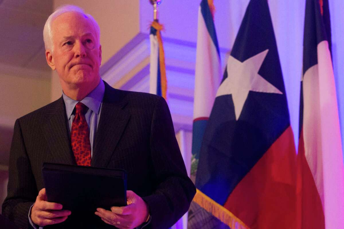 U.S. Sen. John Cornyn faces seven challengers, including Friends- wood Congressman Steve Stockman, who is trying to cast himself as the next Ted Cruz.