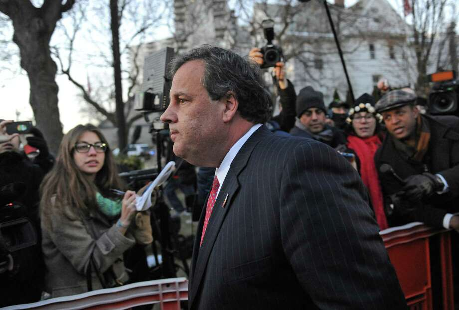 Aides to Gov. Chris Christie are accused of threatening to withhold Hurricane Sandy recovery aid to Hoboken Mayor Dawn Zimmer if she didn't support a real estate development Christie wanted built in her jurisdiction. Photo: Louis Lanzano / Associated Press / FR77522 AP
