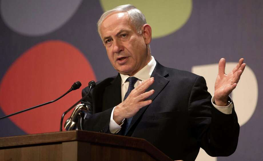 Israeli Prime Minister Benjamin Netanyahu on Thursday said peace has to stem from hope, facts and Middle East realities. Photo: Menahem Kahana / Getty Images / AFP