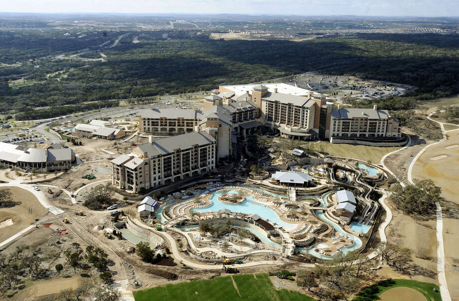 The JW Marriott San Antonio Hill Country Resort & Spa as it neared completion in 2010. It has sued over appraisals each year. Photo: San Antonio Express-News / File Photo / gcalzada@express-news.net