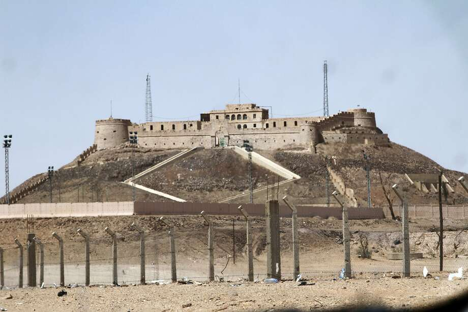 An Ottoman-era fortress overlooking Sebha is often fought over by rival militias in the desert of southwestern Libya where al Qaeda's North African branch is restocking its weapons and recruiting. Photo: Paul Schemm, Associated Press