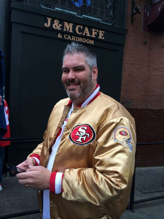 The classic gold jacket. (Al Saracevic/Chronicle)