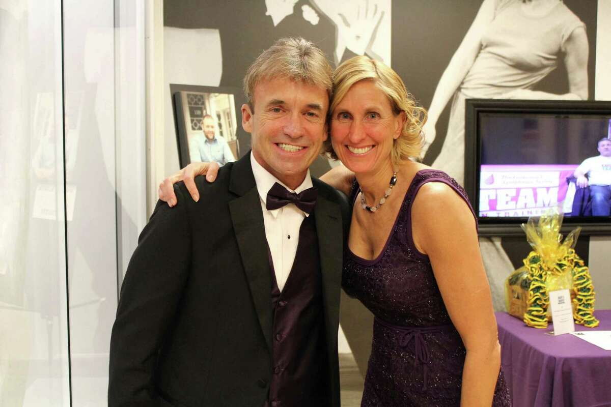 Were you Seen at the inaugural Purple Tie Affair, a benefit for the Leukemia and Lymphoma Society and regional Team in Training groups, held at the National Museum of Dance in Saratoga Springs on Saturday, Jan. 18, 2014?