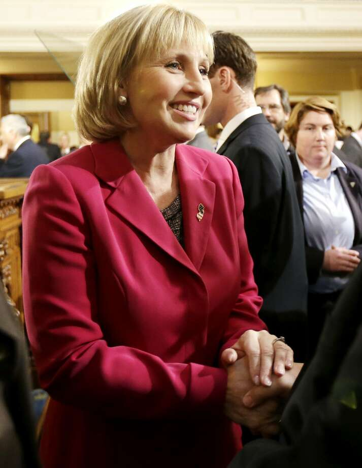 Lt. Gov. Kim Guadagno is accused of delivering an ultimatum for the governor. Photo: Julio Cortez, Associated Press