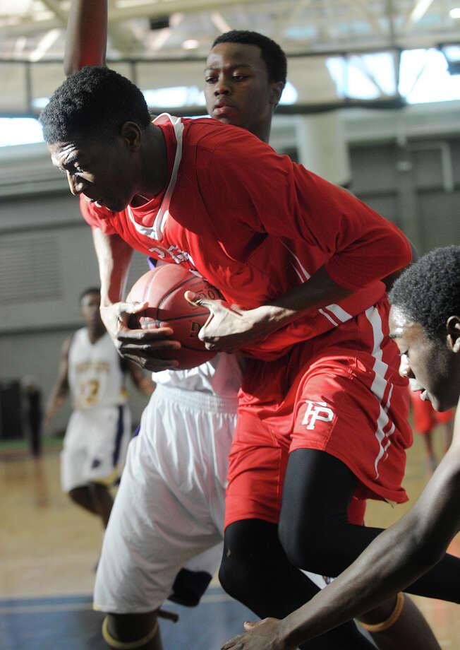 Fairfield Prep's Paschal Chukwu. Fairfield Prep V. Career High School boys basketball at the Floyd Little Athletic Center in New Haven, Conn. on Sunday, January 19, 2014. Photo: Brian A. Pounds / Connecticut Post