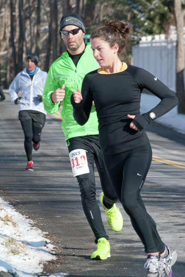 Were you SEEN at The Boston Build-Up 15k in Ridgefield on Sunday, January 19th, 2014? Photo: Kait Jaouen / Hearst Connecticut Media Group