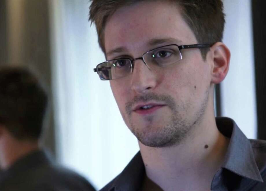 """Former National Security Agency contractor Edward Snowden was called a """"thief"""" whose actions have done significant damage to the U.S. military, Rep. Mike Rogers said. Photo: Getty Images / AFP"""
