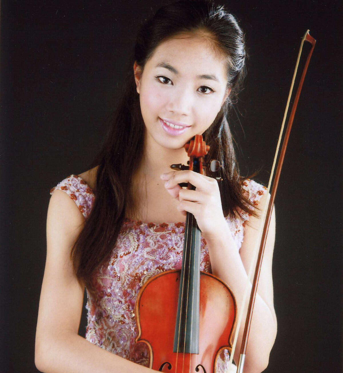 San Antonio's own Nancy Zhou, now based in Boston as a student and international performing artist, was the soloist for the Dvorák Violin Concerto during the San Antonio Symphony's Dvorák Festival on Saturday at the Majestic Theatre.
