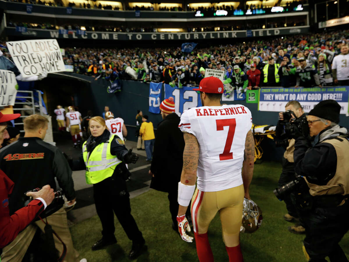 Colin Kaepernick's four career starts against Seattle have been humbling.