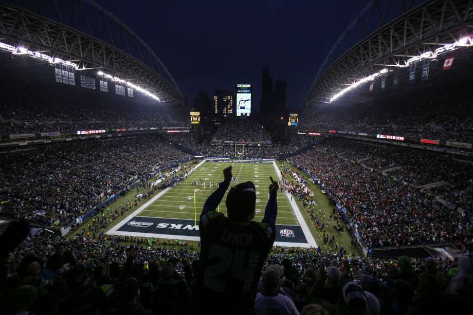 This was briefly Seahawks Stadium, then Qwest Field, then CenturyLink when one phone company swallowed up another. It rests on the graveyard of the Kingdome. Seattle people like to dance on that. The bright side: People in Seattle call the new stadium with CLink. Photo: SEATTLEPI.COM
