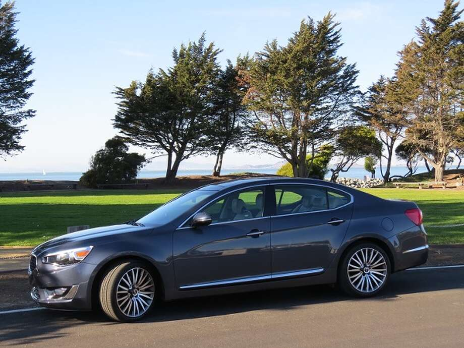 The 2014 Kia Cadenza is the Korean auto maker's near-luxury sedan, a virtual sister of parent company Hyundai's Azera.  (All photos by Michael Taylor)