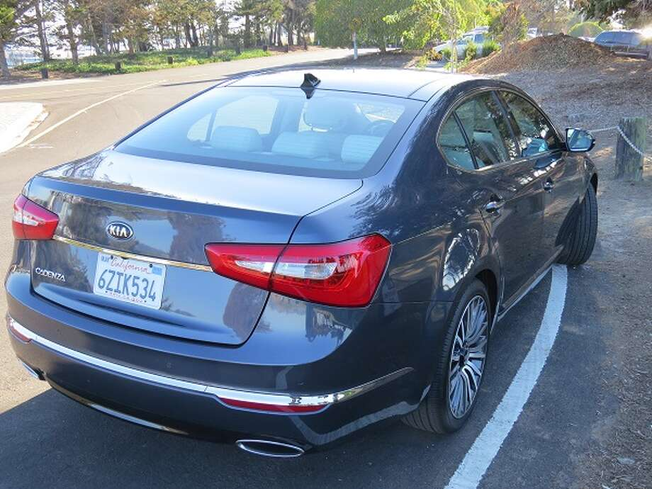 The Cadenza is built to compete with more expensive cars built by Japanese and German manufacturers, but the Cadenza is not exactly cheap. This model is priced at nearly $42,000.