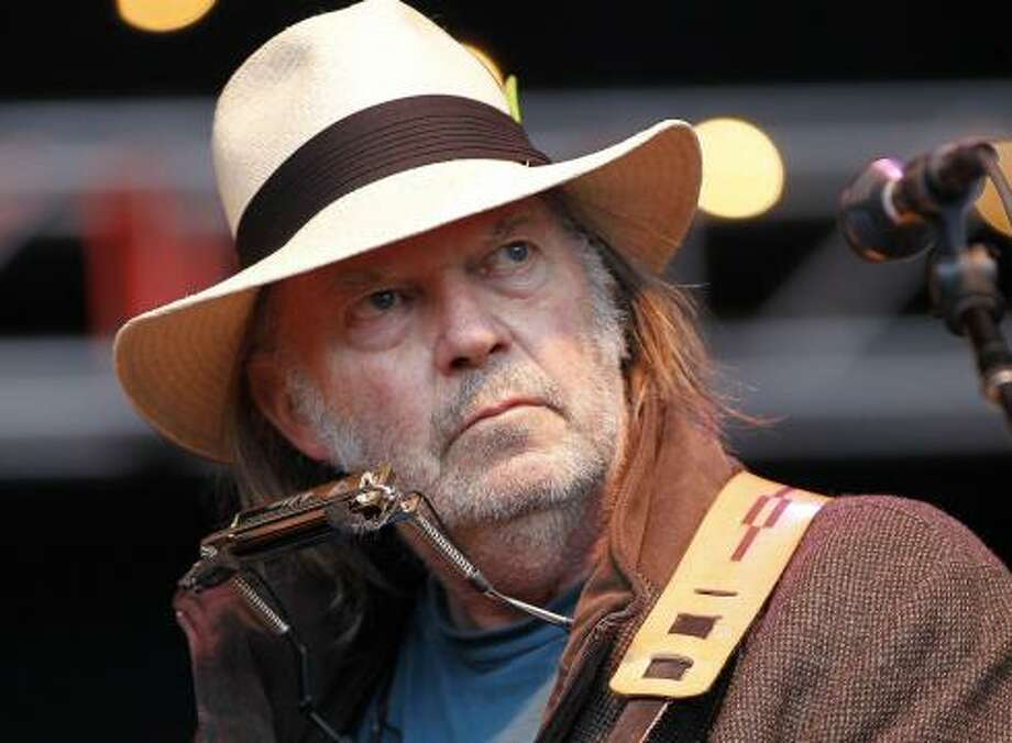 Neil Young, Canadian musician Photo: Tony Avelar, AP