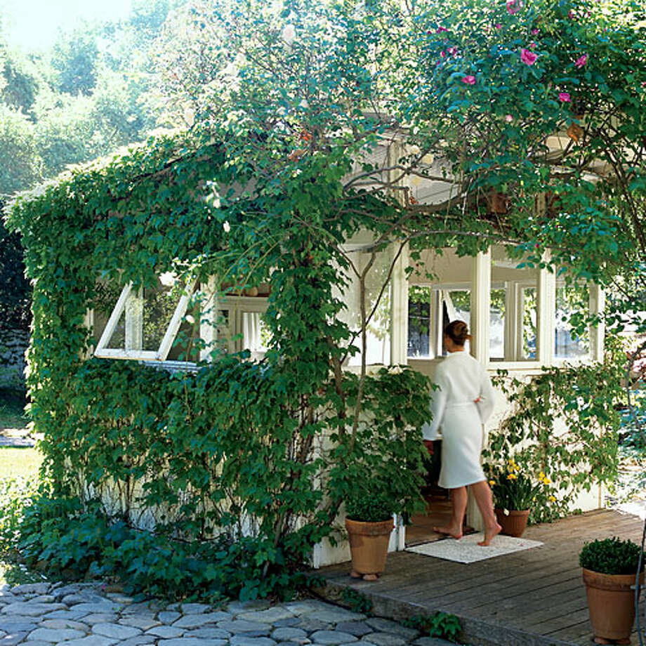 Ivy growing on a house protects the inhabitants from witchcraft and evil. Photo: Lisa Romerein, Sunset.com