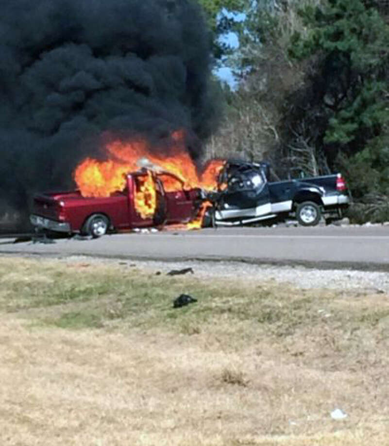 Fiery Wreck in Newton County Kills Two photo by Kai Taylor