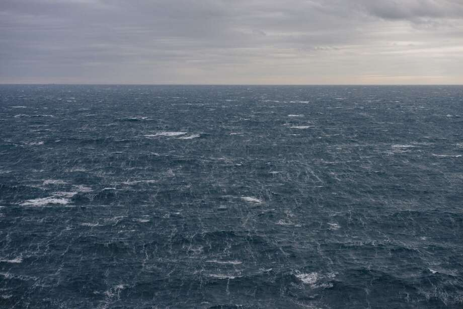 The North Sea horizon is seen from the Oseberg A offshore gas platform operated by Statoil ASA in the Oseberg oil field 140 kilometers  (87 miles) from Bergen, Norway, on Friday, Jan. 17, 2014. Photo: Kristian Helgesen, Bloomberg
