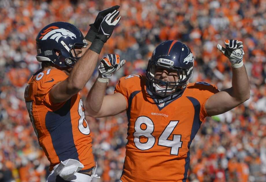 #31 Denver Broncos 2013 record: 13-3 Photo: Jack Dempsey, Associated Press