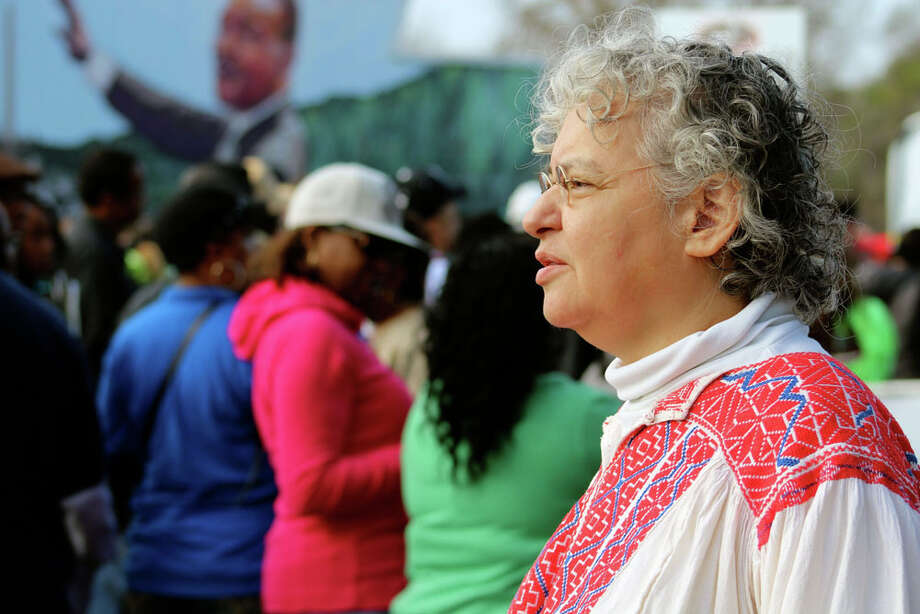 Thousands gathered Monday, Jan. 20, 2014, to remember the Rev. Dr. Martin Luther King Jr. in San Antonio's annual march — one of the state's largest — to honor the civil-rights leader's memory. Photo: Yvonne Zamora/For MySA.com