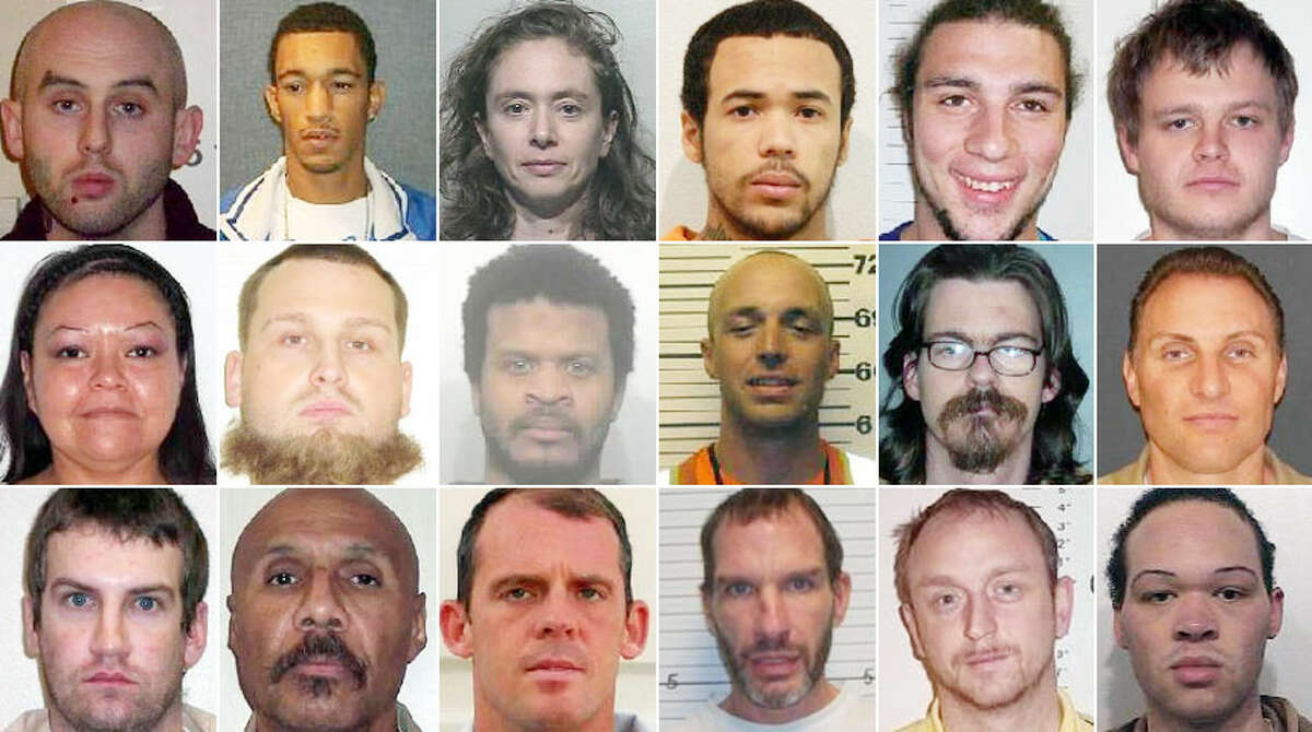 The Department of Corrections is currently looking for dozens of violent felons and sex offenders who've violated their parole. Check them out here.