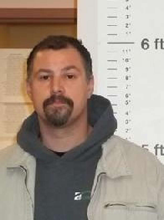 James Andrew Mueller, a 43-year-old Washington man, was previously convicted of extortion in Lewis County. A warrant for his arrest was issued Jan 8, 2013. Anyone with information can contact the Department of Corrections at 866-359-1939 or by visiting doc.wa.gov. Photo: Department Of Corrections