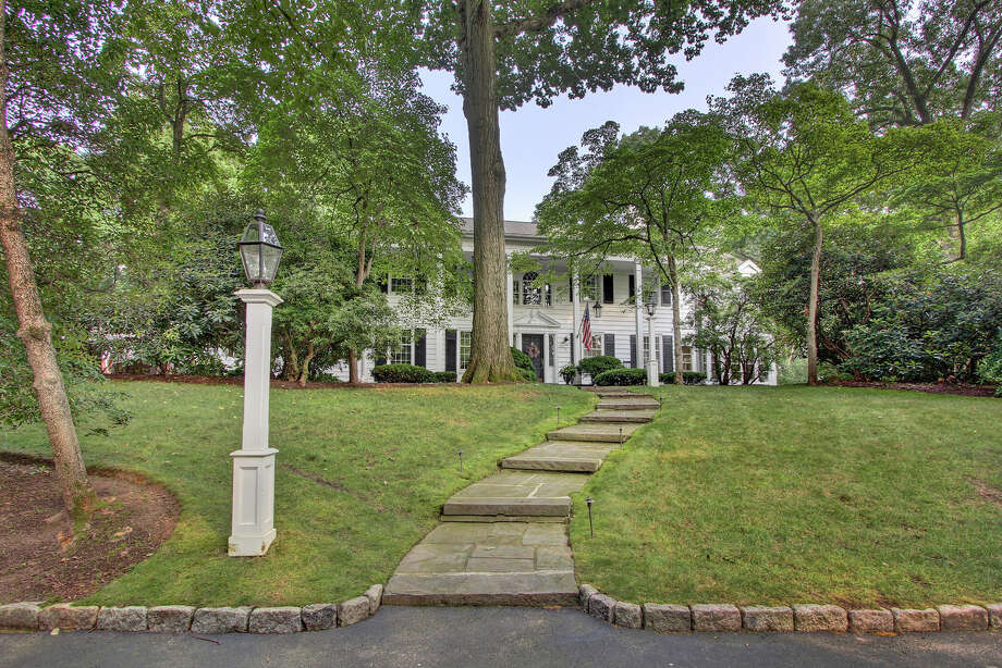 The house at 75 Deer Park Road is on the market for $1,799,000. Photo: Contributed Photo / Fairfield Citizen contributed