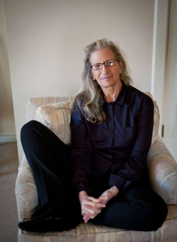 "Photographer Annie Leibovitz in a 2011 visit to  San Francisco, Calif., after releasing a new book, ""Pilgrimage."" (Photo: Russell Yip/The Chronicle) Photo: Russell Yip/The Chronicle"