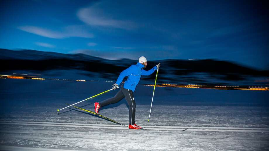 Silicon Valley tech entrepreneur and venture capitalist Paul Bragiel picked cross-country skiing as his Olympic sport. Photo: Aapo Laiho