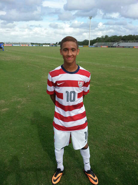 Devin Vega, 15, might be the first local player on the U.S. Under-17 team since 1991. Photo: Courtesy