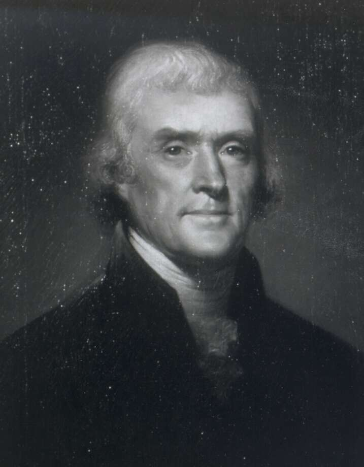 "Thomas Jefferson: ""Hemp is of first necessity to the wealth and protection of the country."" An alleged Jefferson quote talks of smoking hemp on his veranda. It appears to be of recent creation, although Jefferson did grow hemp. Photo: HD, WHITE HOUSE HISTORICAL ASSOC."