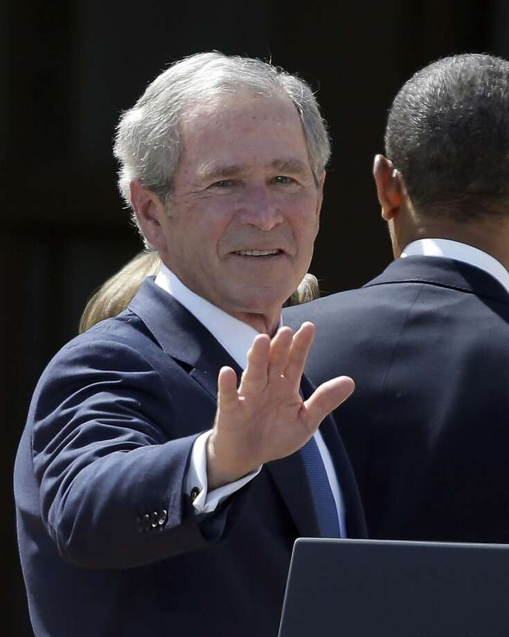 Coming in 2nd was our 43rd president, George W. Bush at 3,239 jokes. Photo: LM Otero, Associated Press