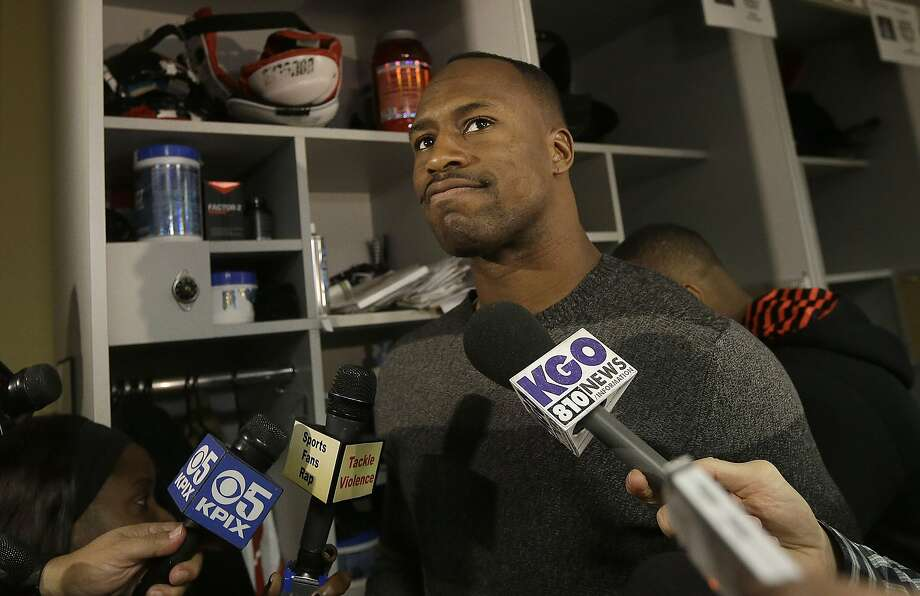 Vernon Davis says he deserves a raise because he has gotten better since he signed his five-year, $37 million contract. Photo: Jeff Chiu, Associated Press
