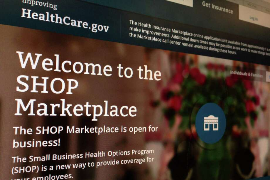 In 36 states, there will be no government website offering ready information on health plans for small businesses until November. Photo: Associated Press File Photo / AP