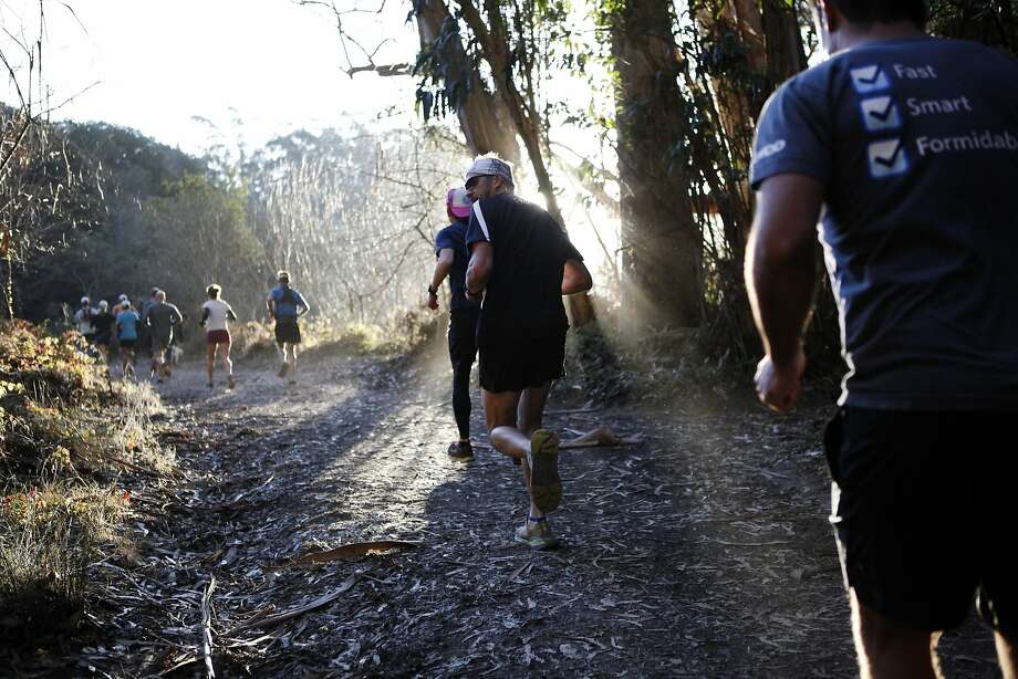 Researchers hope a study of ultra-runners from the San Francisco Running Co. and Bay Trail Runners will provide a glimpse into what drives them to push on. Photo: Michael Short, The Chronicle