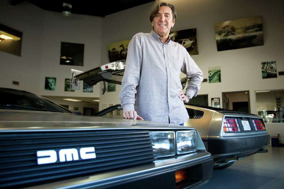 Stephen Wynne sells about a half-dozen new Deloreans a year that he constructs from inventory parts. Photo: Brett Coomer, Staff / © 2014 Houston Chronicle