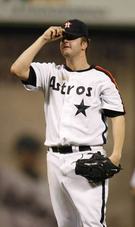 16. The 2014 spring training camp will be a bit of a homecoming for several Astros. Relievers Chad Qualls and Matt Albers are returning to the club after long absences. Jesse Crain played at San Jac and UH, and Scott Feldman had originally been drafted by the Astros. Photo: Karen Warren, Houston Chronicle