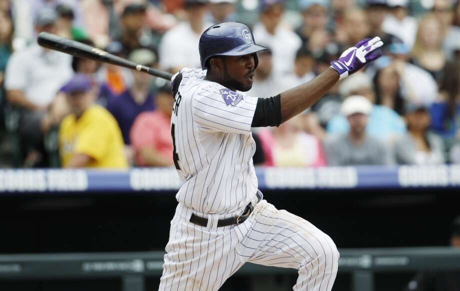 19. Dexter Fowler, who was acquired from the Colorado Rockies this winter, will give the Astros a legit leadoff hitter and solid defensive center fielder. Photo: David Zalubowski, Associated Press