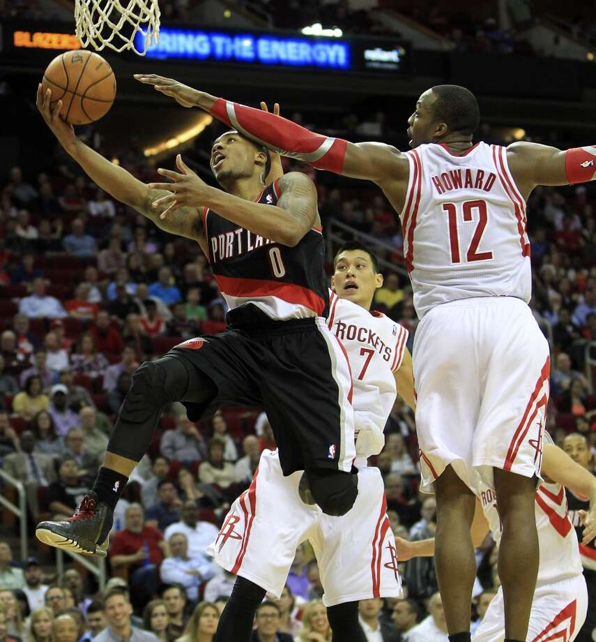 Jan. 20:  Rockets 126, Trail Blazers 113  Houston was able to hang on to its big lead and close out Portland on Martin Luther King Day. Photo: Karen Warren, Houston Chronicle