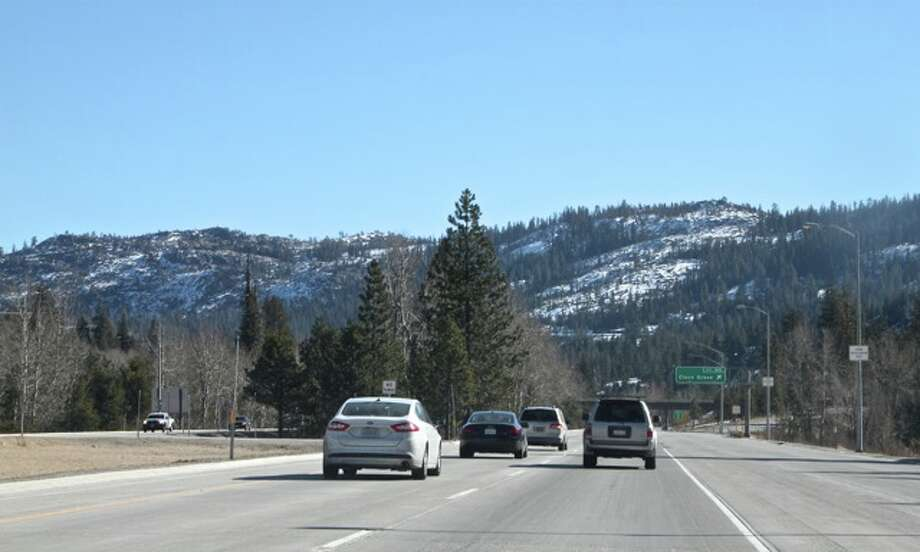No snow on I-80