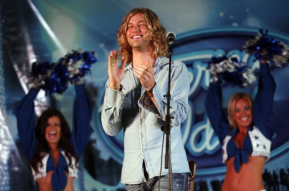"""""""If you could sing one song on American Idol, what would it be?""""-- Red Frog EventsMore Red Frog Events interview questions (Tom Pennington/Getty Images) Photo: Tom Pennington, Getty Images"""