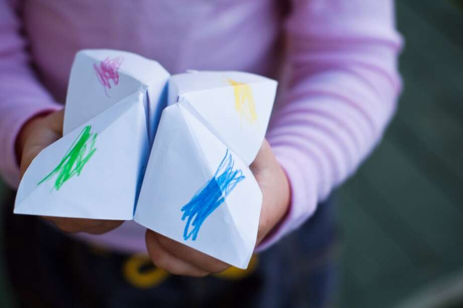 """Could you instruct someone how to make an origami 'cootie catcher' with just words?"" -- LivingSocialMore LivingSocial interview questions (Bonita Cooke/Getty Images/Flickr) Photo: Bonita Cooke, Getty Images/Flickr RF"
