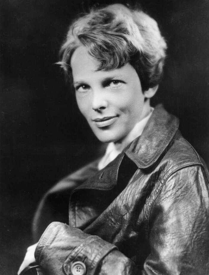 American aviator Amelia Earhart, 1932. Photo: Hulton Archive, Getty Images