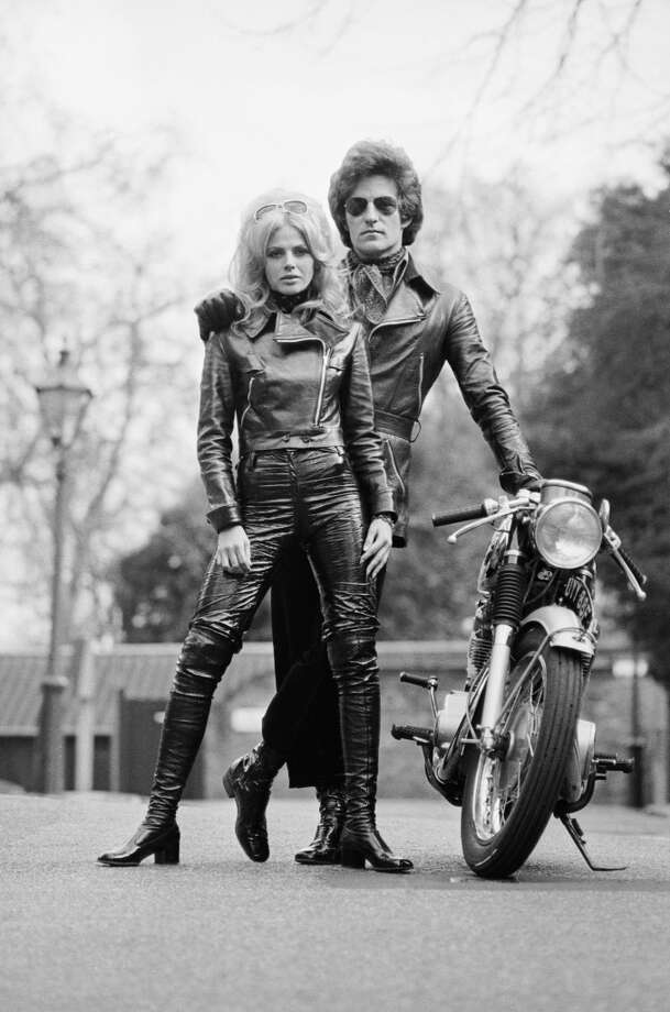 British photographer Patrick Lichfield (1939 - 2005), the 5th Earl of Lichfield with Swedish actress Britt Ekland, circa 1970. Photo: Terry O'Neill, Getty Images