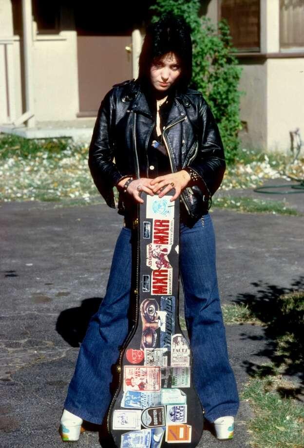Guitarist Joan Jett in 1977. Photo: Michael Ochs Archives, Getty Images