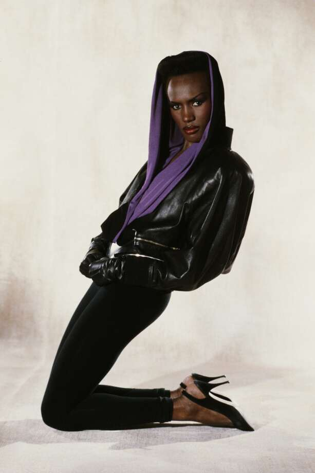 Jamaican-born actress, singer and model Grace Jones as May Day in the James Bond film 'A View To A Kill,' 1984. Photo: Keith Hamshere, Getty Images