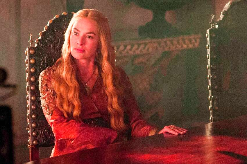 Cersei LannisterGame of Thrones The Queen Mother may be a conniving witch, but you got to admit, she's a strong female lead. More wine, please.
