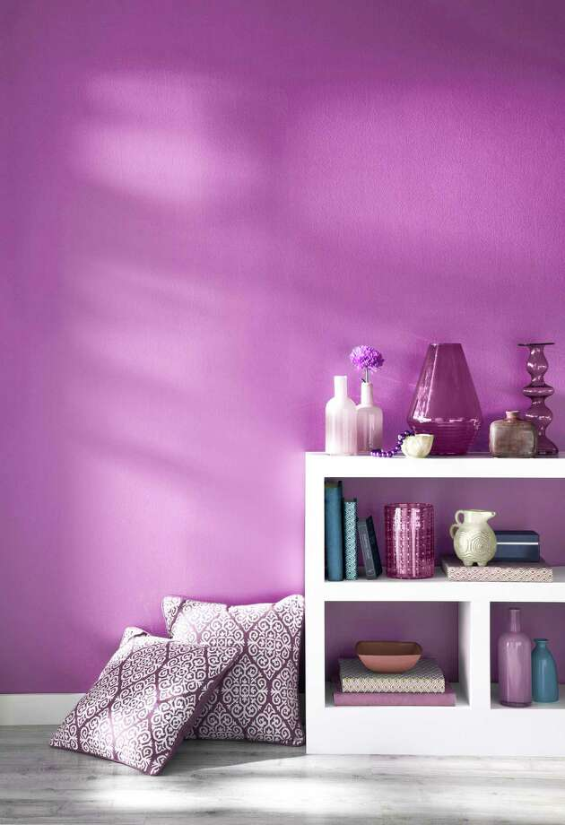 Shades of Radiant Orchid create warmth and drama in the home. Photo: Courtesy Pantone Color Institute
