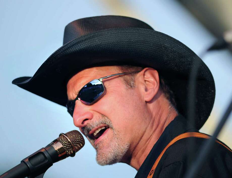 Nick DeMaio III sings for Gunsmoke, a classic country-western swing-rockabilly band out of Darien. They'll be performing at Music For Hope at Darien High School on Saturday, Jan. 25. Photo: Bob Luckey / Greenwich Time