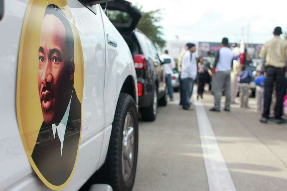 "The ""Original"" 36th annual Dr. Martin Luther King, Jr. Birthday Parade begins at 10:00 am at Minute Maid Park in Houston, Tx. Photo: Johnny Hanson/Houston Chronicle"