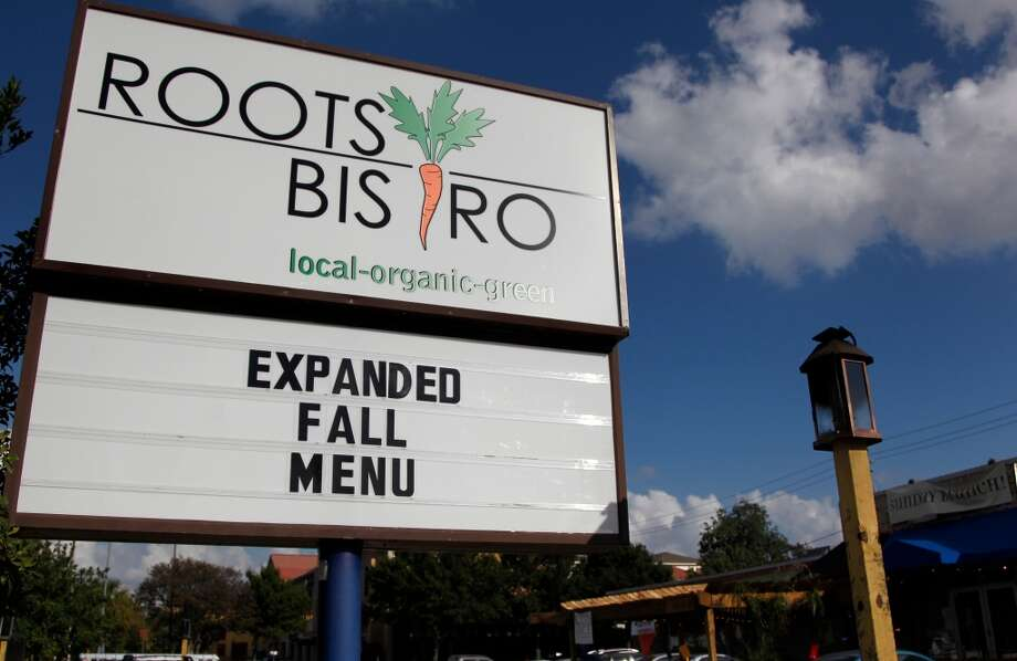 """Houston's Roots Bistro made its way into the national news for all the wrong reasons after an employee posted a sign, reading """"Beer Should Be Like Violence: Domestic."""" Photo: Mayra Beltran, Houston Chronicle"""